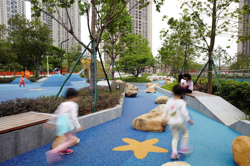COHL Foshan Uni-mall is a multigenerational playground in Guangdong province.