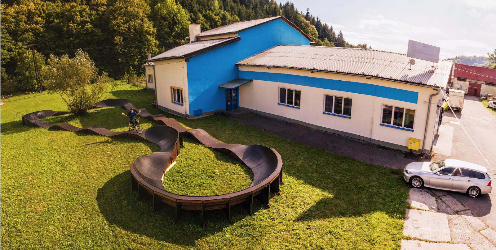 PARKITECT first factory, Vsetin, Czech, 2013.