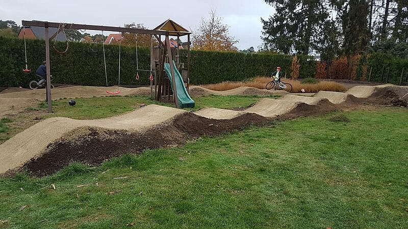 How to Build a Backyard Dirt Pumptrack